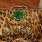 TWIN NEW IN THE BAG ANIMAL PRINT BEIGE BLACK PLUSH NOBLE BLANKET SZ 160CMX220CM