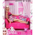 Mattel Barbie Glam Doll & Couch Set #T3578