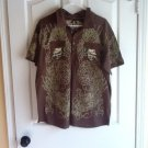 T-SHIRT WITH SKULL SZ XL BY VERCHO CLOTHING 100% COTTON