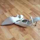 WHITE LADIES SHOES ALL MAN MADE MATERIALS 9M BY CLASSIFIED