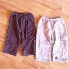 BABY  2 PANTS BEIGE/BROWN BY CARTER'S SZ 18 M
