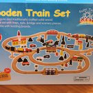 Wood toy Railroad