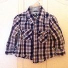 TODDLER SHIRT PLAID BY PAYABLE TO SZ 2T