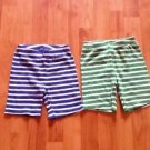 BABY SHORTS 2 PAIRS BY CARTERS 4T