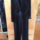 Plus Size Women Jumpsuit Black Sz 16w
