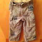 Baby Gap Patch Blue Pants Sz 2 Years With Adjustable Waist