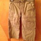 Pumpkin Patch Beige Pants Sz 12-18m With Adjustable Waist