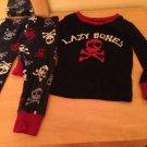 Baby Sleepwear Dark Blue  2pc Pirate Set Sz 2 By Childrens Place