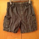 baby naartjie Shorts Sz 18-24 M Blue Plaid