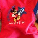 Mickey Mouse Red Disney Jacket Sz 5T