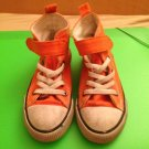 Boys Orange Sneakers Sz 7 1/2 By H&M Very Comfortable