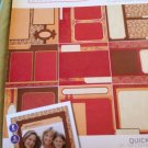 Scrapbooking Paper 12X12 Quick Page Pack Beige Reddish