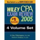 4 volume set of Wiley CPA Examination Review 2005  /Brand New