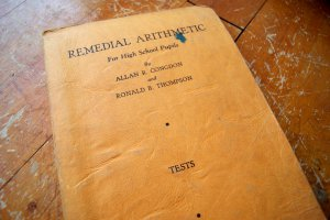 A Course in Remedial Arithmetic for High School Pupils TESTS Allan Congdon