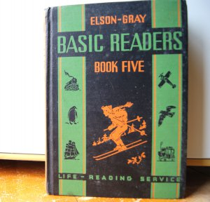 William Elson & Gray Basic Readers Book Five 1936 Vintage Comprehensive Reading Course