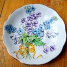 Royal Albert Bone China Small Saucer Bread Butter Plate Flower of the Month Series Larkspur No. 7