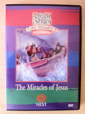 The Miracles of Jesus - Animated Stories from the New Testament On Interactive DVD
