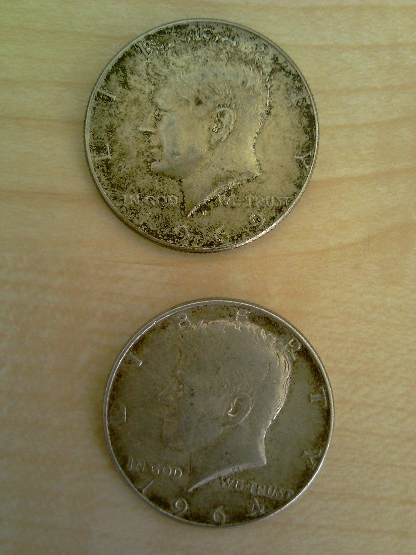 Kennedy Half Dollar - 1964-1969 - Silver