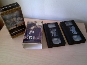 SAVING PRIVATE RYAN - 2 VHS BOX SET LIMITED EDITION