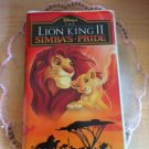 The Lion King II - Simba's Pride - VHS