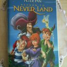 RETURN TO NEVER LAND VHS WALT DISNEY PETER PAN - CHILDREN ANIMATION