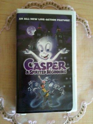 Casper A Spirited Beginning (VHS, 1997)
