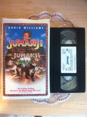 JUMANJI - VHS - Robin Williams