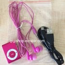 MINI COLORFUL MP3 PLAYER - Pink Color