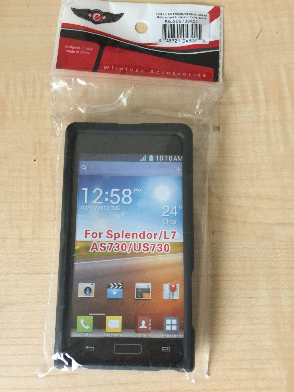 For LG Splendor US730 Case TPU Rubber Slim Thin Phone Flexible Durable Cover