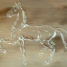 RAISED PLASTER PRANCING HORSE STENCIL