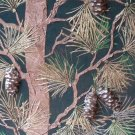Raised Plaster Life-sized Pine Tree Wall Stencil, Painting Stencil