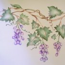 Grape vine Border Painting Stencil Wall Stencil