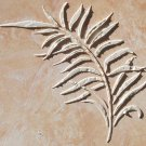 Raised Plaster Large Palm Leaf Wall Stencil, Painting Stencil