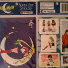 Sailor Moon Super Sized Stickers 2 Pack  B