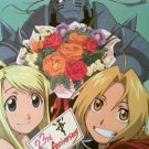Fullmetal Alchemist Double sided pin-up (feat. Winry)