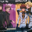 Set of 2 Code Geass: Lelouch of the Rebellion R2 Clear Files