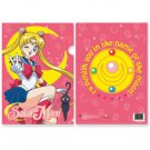 Sailor Moon & Luna Clear File Folder