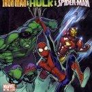 Free Comic Book Day 2008 Marvel Adventures: Iron Man & Hulk & Spider-Man
