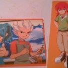 Inazuma Eleven Go Animage Originai Notebook & Mini Mouse Pad Set