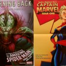 The Amazing Spider-Man Issue # 688/Captain Marvel Issue One Double-Sided Poster