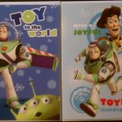 2 Different Disney Pixar Toy Story Holiday Greetigng Cards with Envelopes