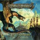 Dragons 2011 Calendar by Ciruelo