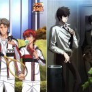 The Prince of Tennis / Psycho-Pass Double-sided Pin-up