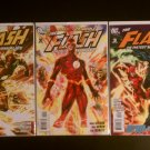 The Flash The Fastest Man Alive # 1A, 2, 3 (DC Comics)