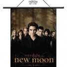 Twilight Saga New Moon The Cullens Wall Scroll by NECA NEW