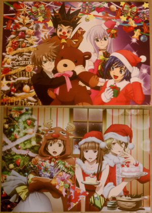 Cardfight!! Vanguard/Blast of Tempest Christmas Double-sided Pin-up