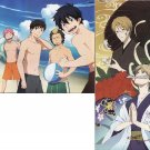 Blue Exorcist (Ao no Exorcist) / Natsume Book of Friends Double sided Pin-up