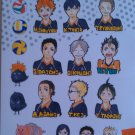 Haikyu!! Sticker Sheet