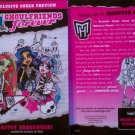 Monster High GhoulFriends Forever Exclusive Sneak Preview Sampler
