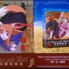 Spice and Wolf BLU-Ray/DVD Flyer